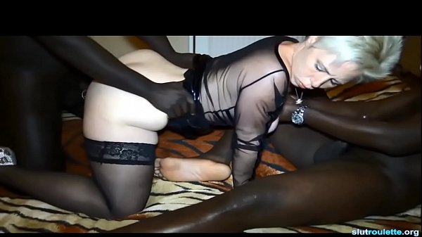 Amateur white wife two bbc