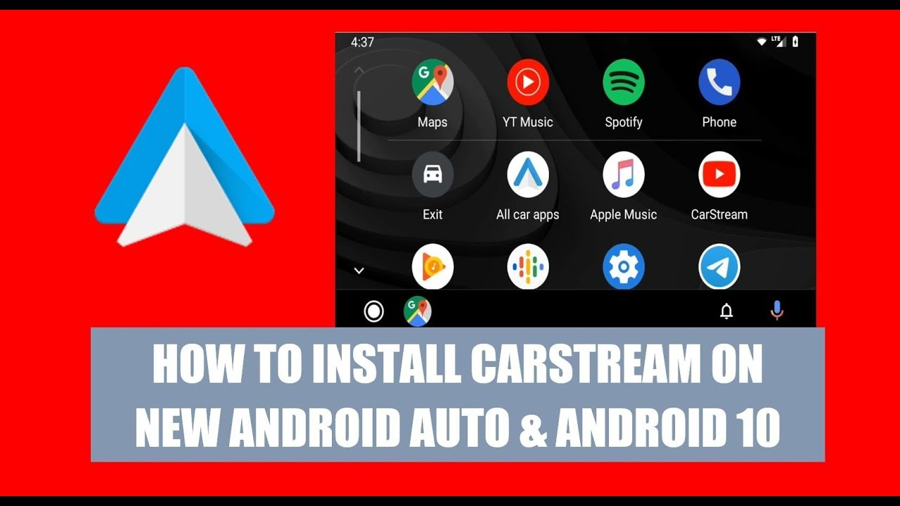 Android auto with youtube