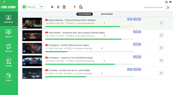 Simple youtube music downloader