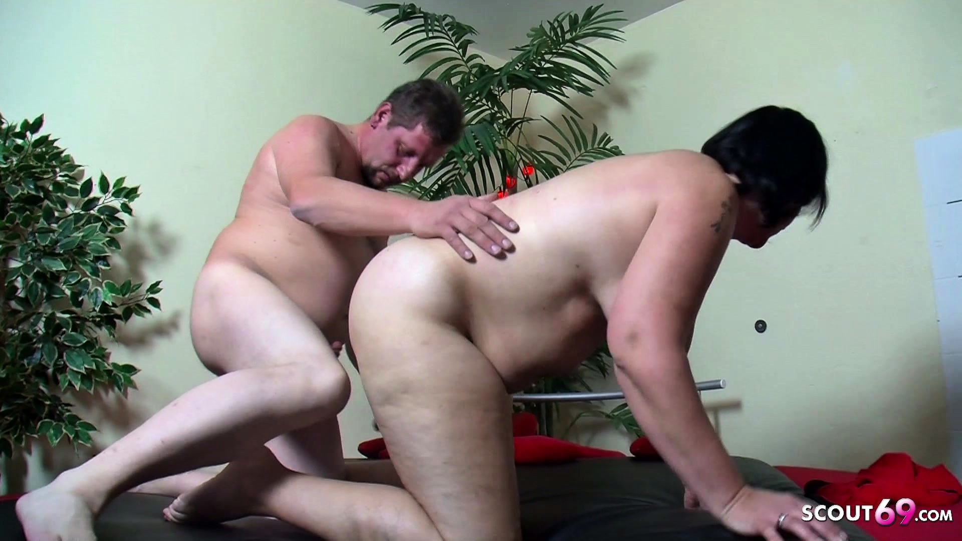 First mature threesome